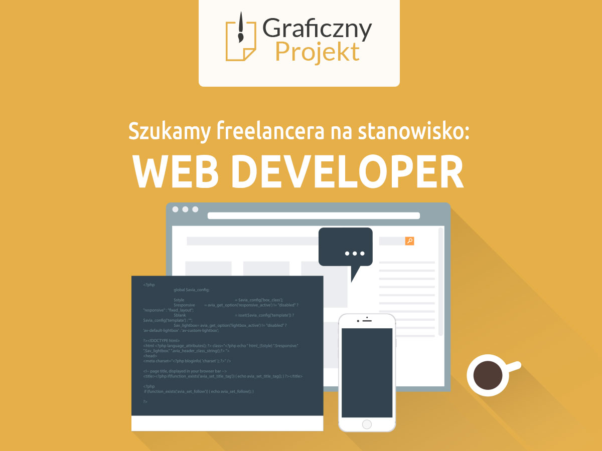 web developer praca